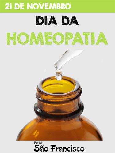 Dia da Homeopatia