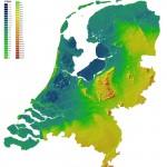 Mapa dos Países Baixos