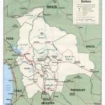 Mapa da Bolívia