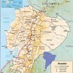 Mapa do Equador