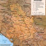Mapa de Montenegro