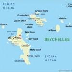 Mapa da Seychelles