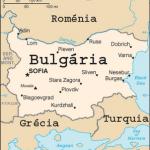 Mapa da Bulgária