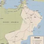 Mapa de Omã