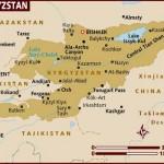Mapa do Quirguistão