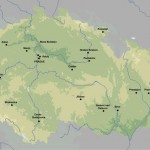 Mapa da República Tcheca
