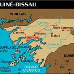 Mapa de Guine-Bissau