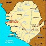 Mapa de Serra Leoa