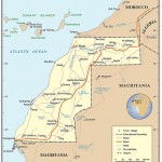 Mapa do Saara Ocidental
