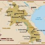 Mapa de Laos