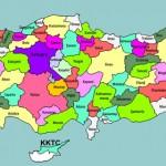 Mapa da Turquia