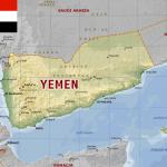 Mapa do Iêmen