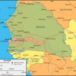 Mapa de Senegal
