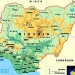 Mapa da Nigéria