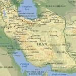 Mapa do Irã