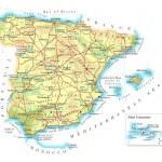 Mapa da Espanha