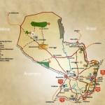 Mapa do Paraguai