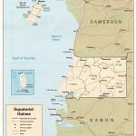Mapa de Guiné Equatorial