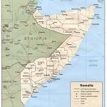Mapa da Somália
