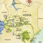 Mapa do Quênia