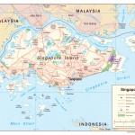 Mapa de Singapura