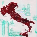 Mapa da Itália