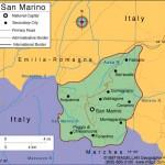Mapa de São Marinho