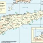 Mapa de Timor Leste