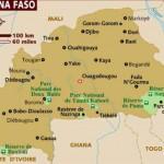 Mapa de Burkina Faso