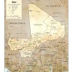 Mapa de Mali