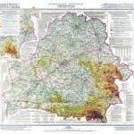 Mapa da Bielorrússia