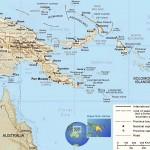 Mapa de Papua Nova Guiné