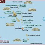 Mapa de Vanuatu