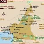 Mapa de Camarões