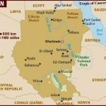 Mapa do Sudão