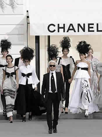História Karl Lagerfeld