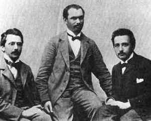 Conrad Habicht, Maurice Solovine e Albert Einstein