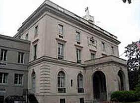 A mansão Brodhead-Bell, a residência da família Bell, em Washington, DC, de 1882 a 1889