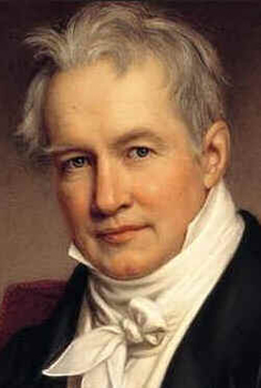 Alexander Von Humboldt, pintura de Joseph Stieler de 184