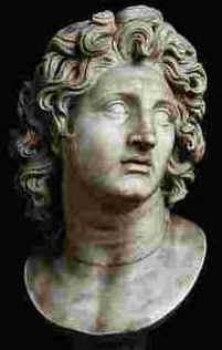 Imperador da Macedônia (356-323 a.C.).