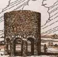 Torre que teria sido construída pelos celtas em Newport (Rhode Island/EUA), 500 anos antes da chegada de Colombo à América