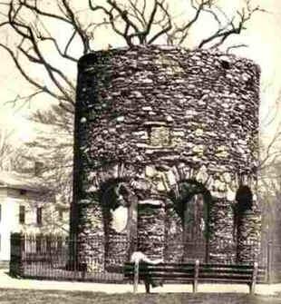 A torre celta de Newport