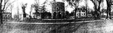 A torre celta de Newport: postal de 1906 de Blanchard, Young and Co., Providence (Rhode Island/EUA) - coleção de John Dandola