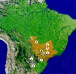 Bacia Platina - Hidrografia Brasileira