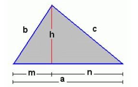 Fórmula de Heron: Área de região triangular