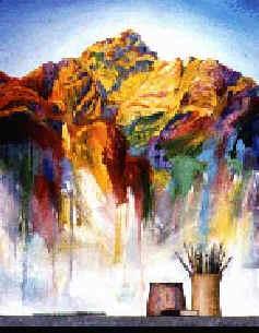 Antonio Peticov - A Lição (1998)