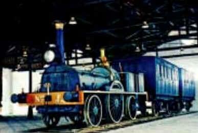 """A """"Baronesa"""" — A primeira locomotiva do Brasil"""