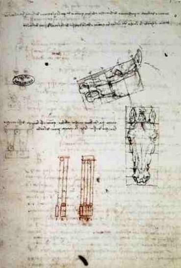Estudo de Proporções - Leonardo da Vinci