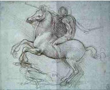 Estudos Para Monumentos - Leonardo da Vinci