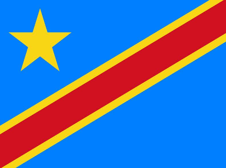 Bandeira da República Democrática do Congo